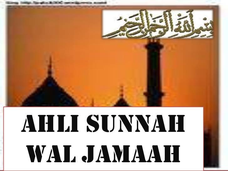 ahlus sunnah 1