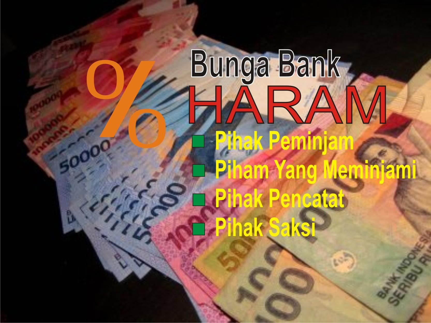 bunga bank haram 1