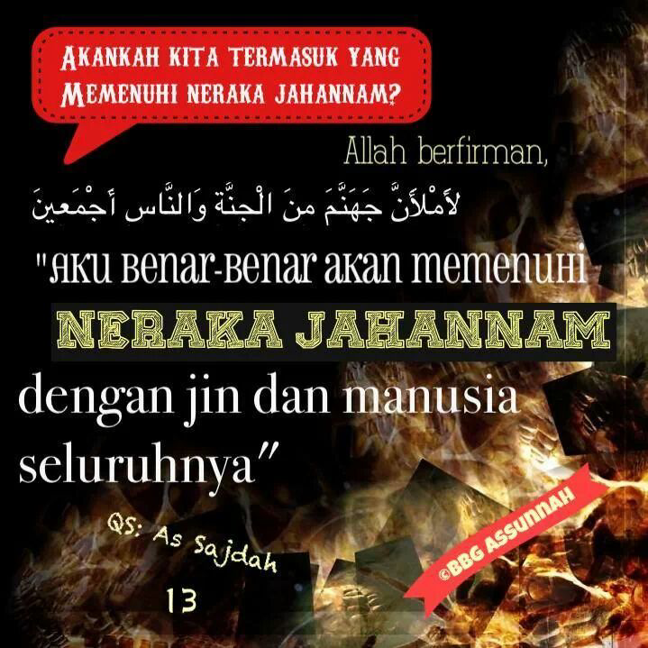 jin manusia neraka
