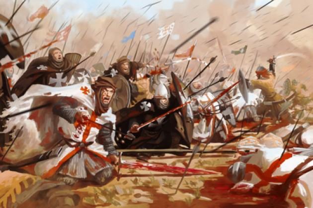salib pasukan pedang