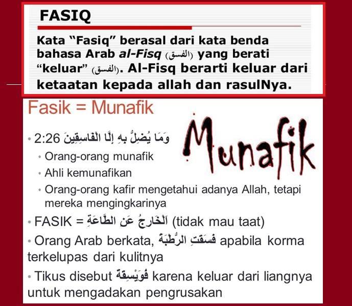 FASIK MUNAFIK 1