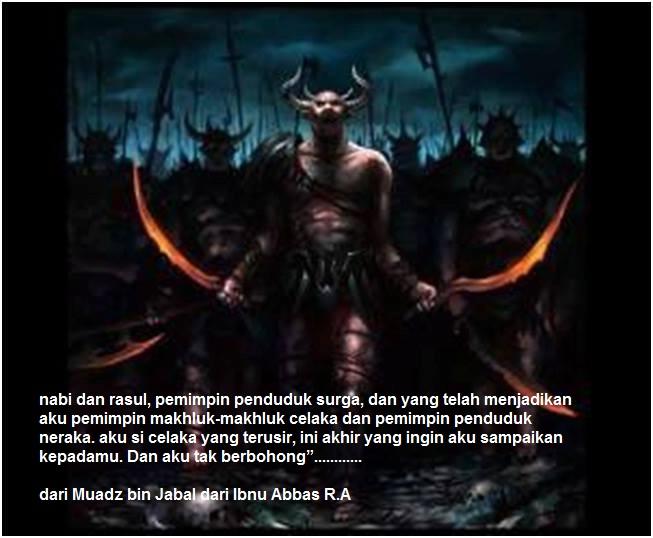 iblis jawab