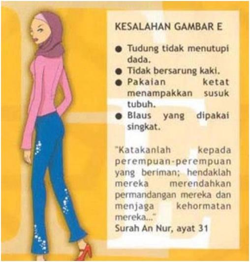 jilbab bungkus