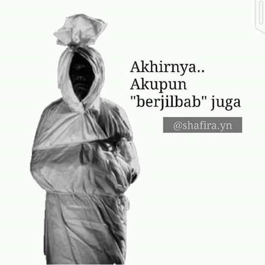 jilbab mayat