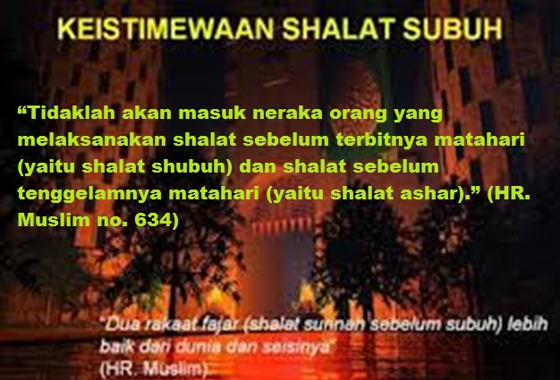 ISTIMEWA SHALAT SUBUH