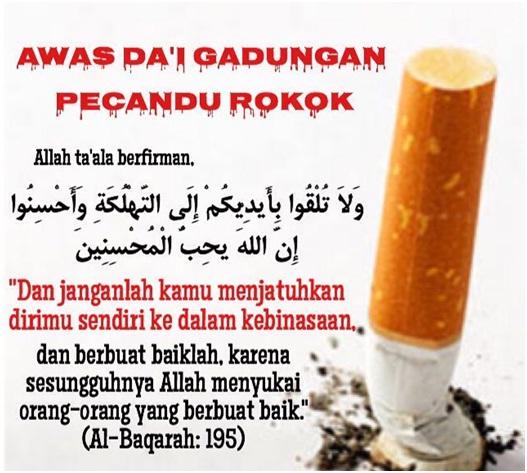 kyai rokok gadungan