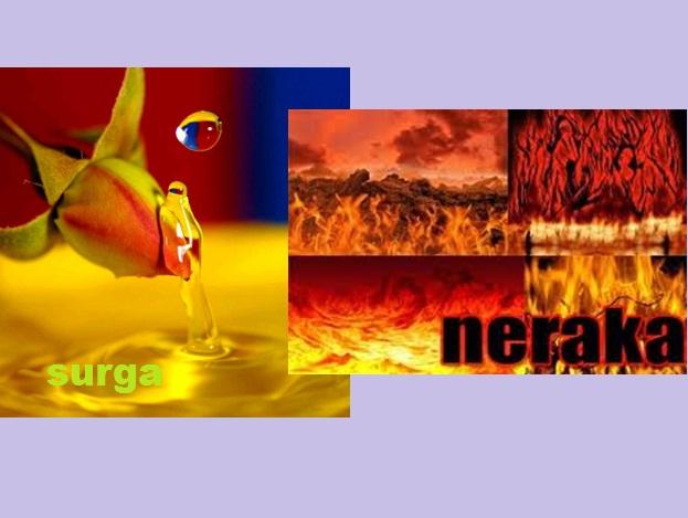 surga neraka tulis