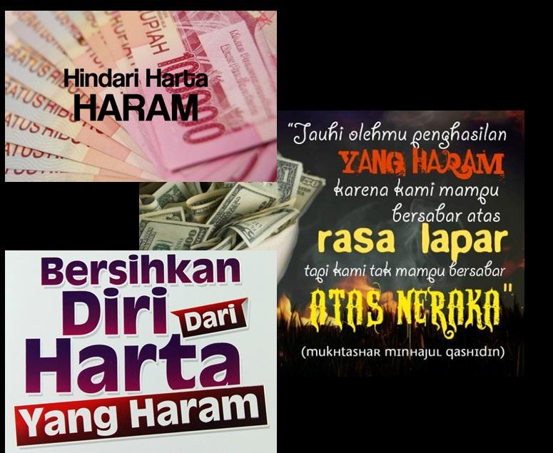 harta haram uang